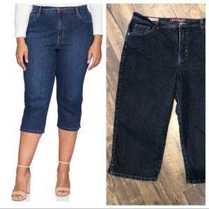"Gloria Vanderbilt ""Amanda"" Capri jeans"